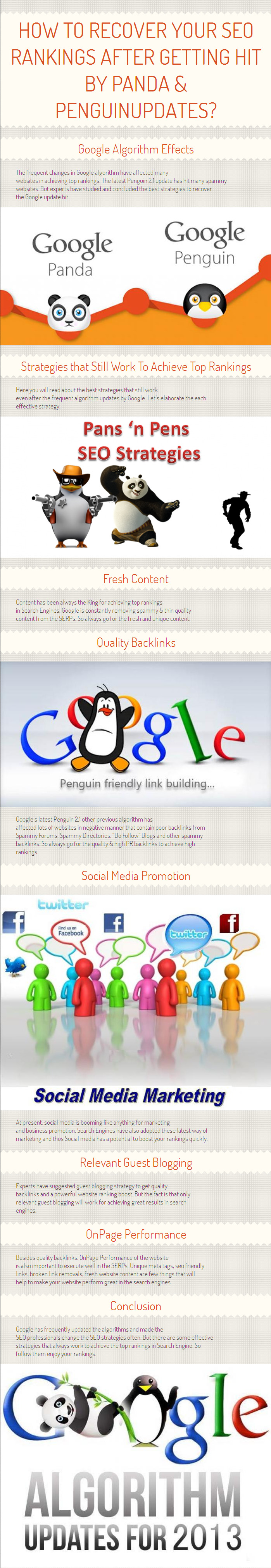 How To Recover Your SEO Rankings After Getting Hit By Panda & Penguin Updates By www.topranker.biz